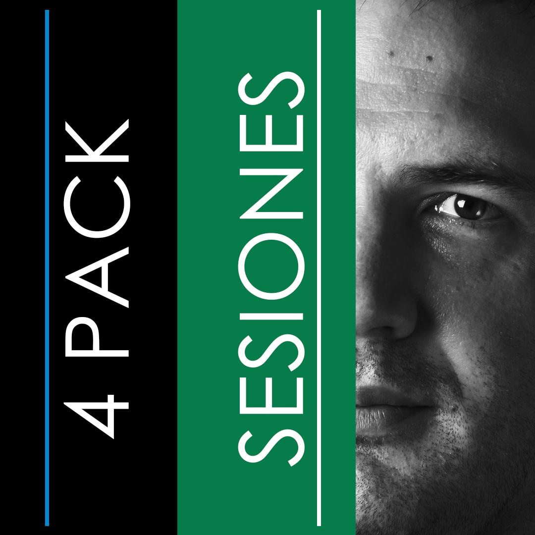 Pack 4 Sesiones